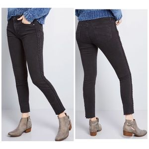 Driftwood Braid Your Closet Skinny Jeans